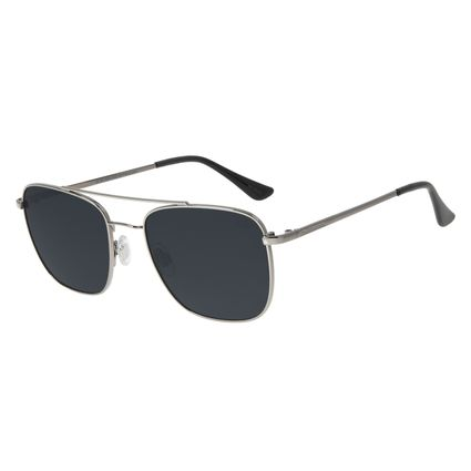 Óculos de Sol Unissex Chilli Beans Executivo Ônix OC.MT.2833-0122
