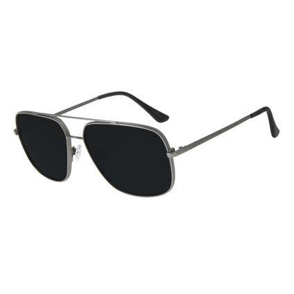 Óculos de Sol Unissex Chilli Beans Executivo Ônix OC.MT.2834-0122