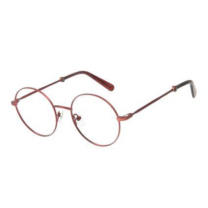 Armação Para Óculos de Grau Feminino Marvel Homem Aranha Vinho LV.MU.0484-0517.2