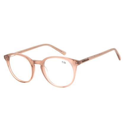 Armação Para Óculos de Grau Unissex Chilli Beans Redondo Marrom LV.AC.0587-0202