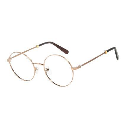 Armação Para Óculos de Grau Feminino Marvel Homem Aranha Marrom LV.MU.0484-5702.2
