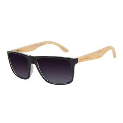 Óculos De Sol Masculino Chilli Beans Quadrado Degrade Preto Polarizado OC.CL.1748-2001