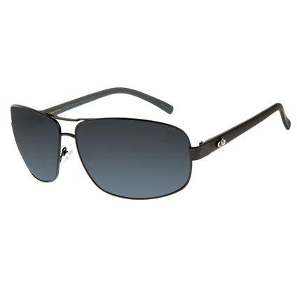 Óculos de Sol Masculino Chilli Beans Executivo Preto Espelhado OC.MT.2123-3201