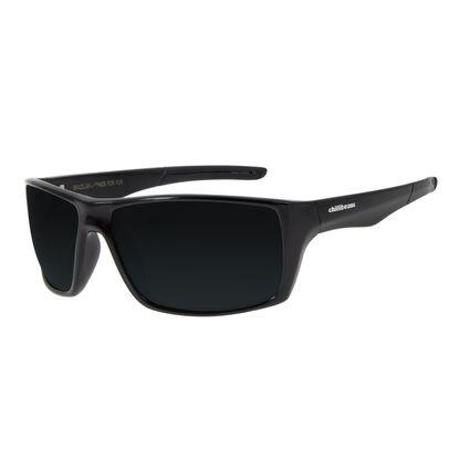 Óculos De Sol Masculino Chilli Beans Performance Polarizado Preto Brilho OC.ES.1186-0430