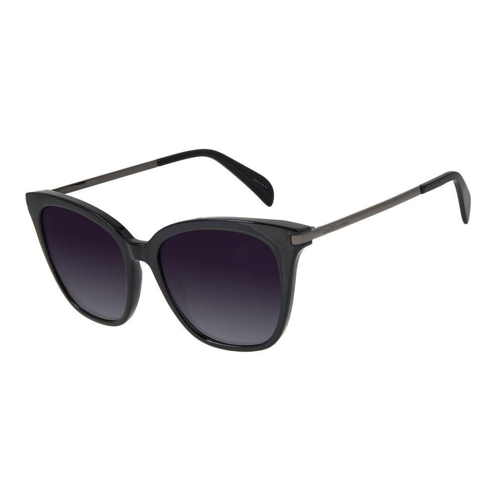 Óculos de Sol Feminino Chilli Beans Quadrado Polarizado Preto OC.CL.2953-2001