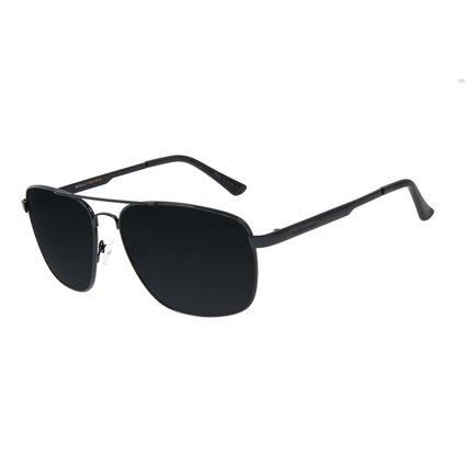 Óculos de Sol Masculino Chilli Beans Executivo Metal Preto OC.MT.2810-0101