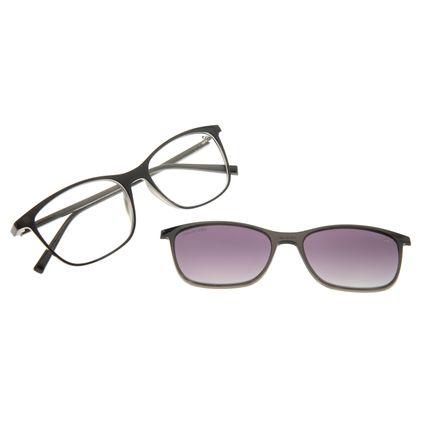 Armação Para Óculos de Grau Feminino Chilli Beans Multi 2 em 1 Polarizado Brilho LV.MU.0185-2030