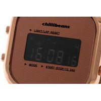 Relógio Digital Feminino Rosé Gold RE.MT.0879-9595.5