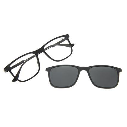 Armação Para Óculos De Grau Masculino Chilli Beans Multi Preto Polarizado LV.MU.0449-0101