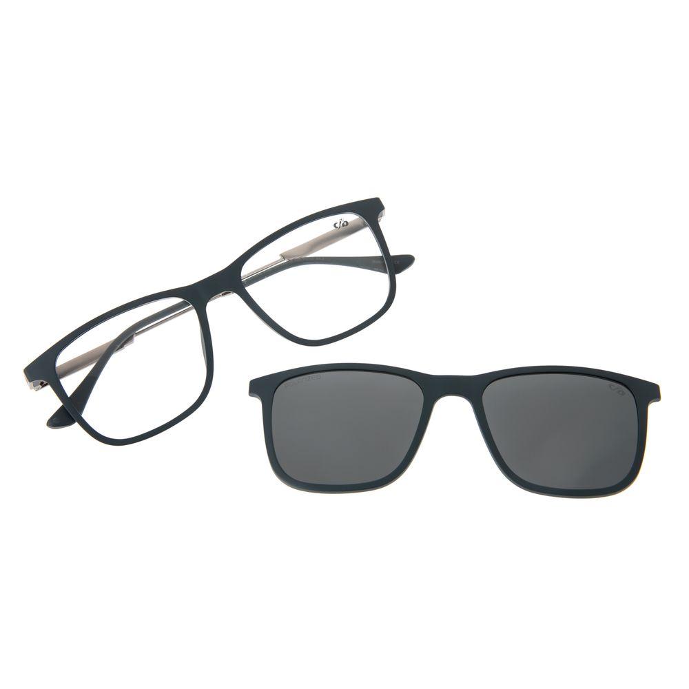 Armação Para Óculos De Grau Masculino Chilli Beans Multi Azul Escuro Polarizado LV.MU.0449-0590