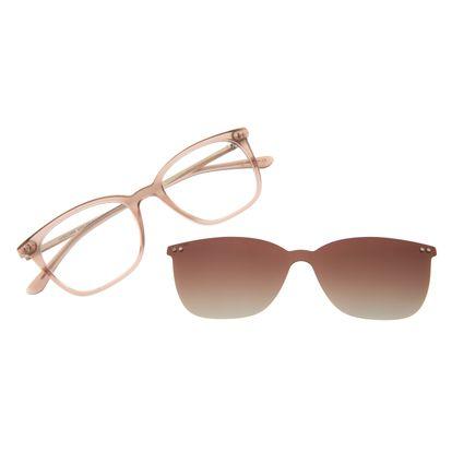 Armação Para Óculos De Grau Feminino Chilli Beans Multi Bege Polarizado LV.MU.0494-5723