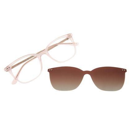 Armação Para Óculos De Grau Feminino Chilli Beans Multi Rose Polarizado LV.MU.0494-5795