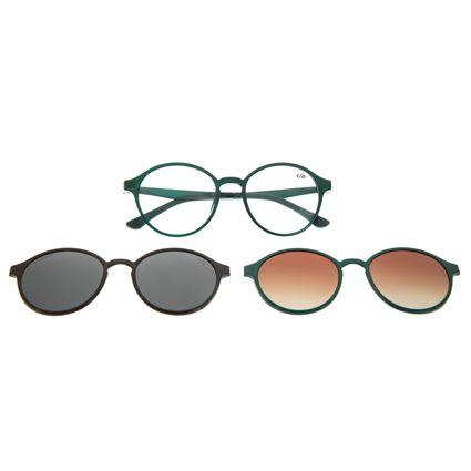 Armação Para Óculos de Grau Unissex Chilli Beans Multi Polarizado Azul Claro LV.MU.0355-0159
