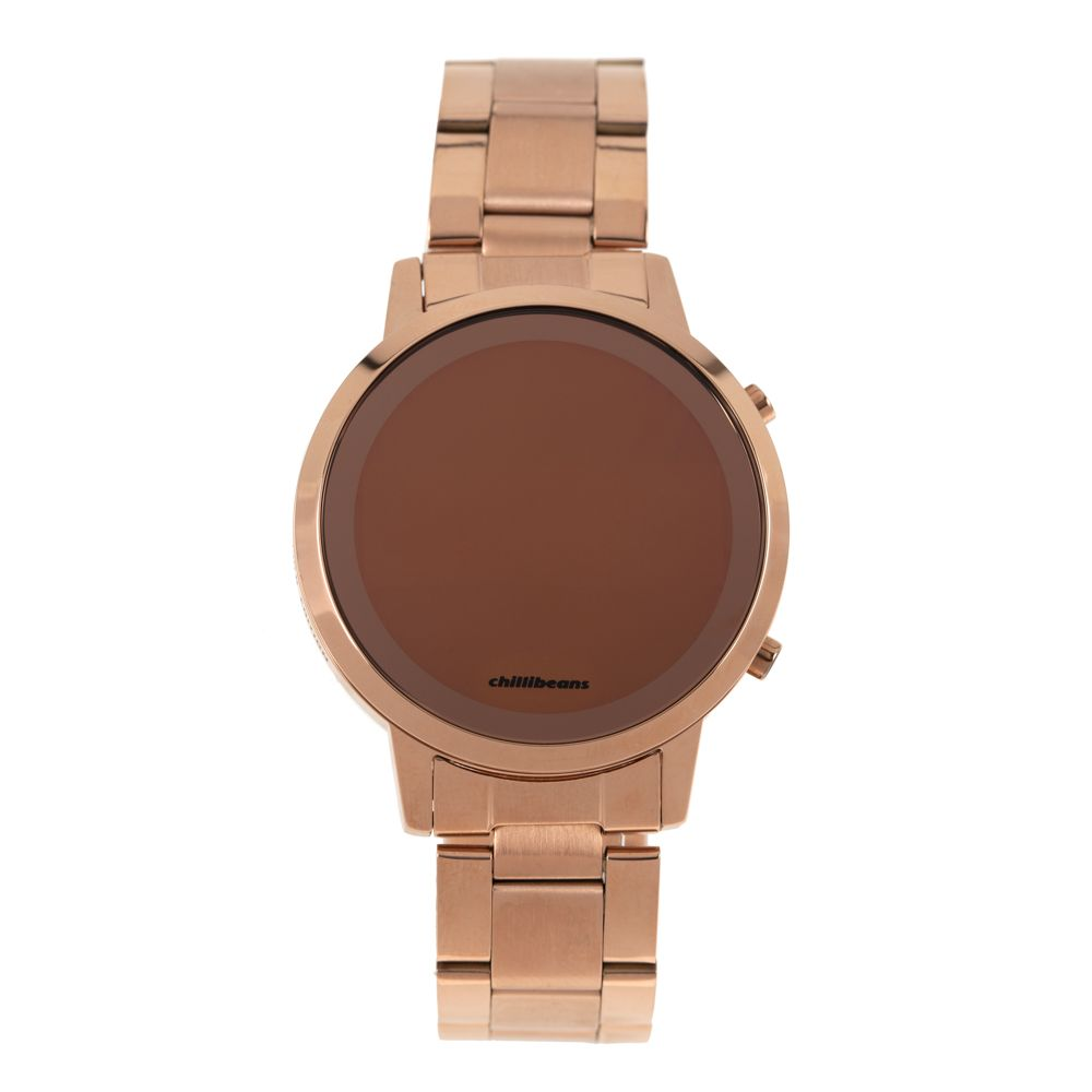 Relógio Digital Feminino Rose Gold RE.MT.0880-9595