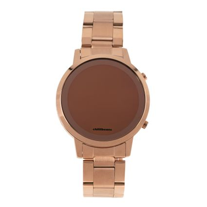 Relógio Digital Feminino Rose Gold RE.MT.0880-9595