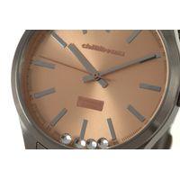 Relógio Analógico Feminino Rose Gold Prata RE.MT.0881-9507.5