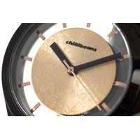 Relógio Analógico Feminino Rose Gold Preto RE.MT.0892-9501.5