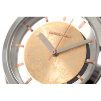 Relógio Analógico Feminino Rose Gold Prata RE.MT.0892-9507.5