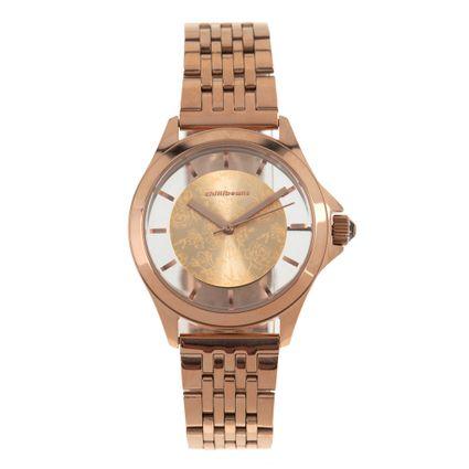 Relógio Analógico Feminino Rose Gold RE.MT.0892-9595