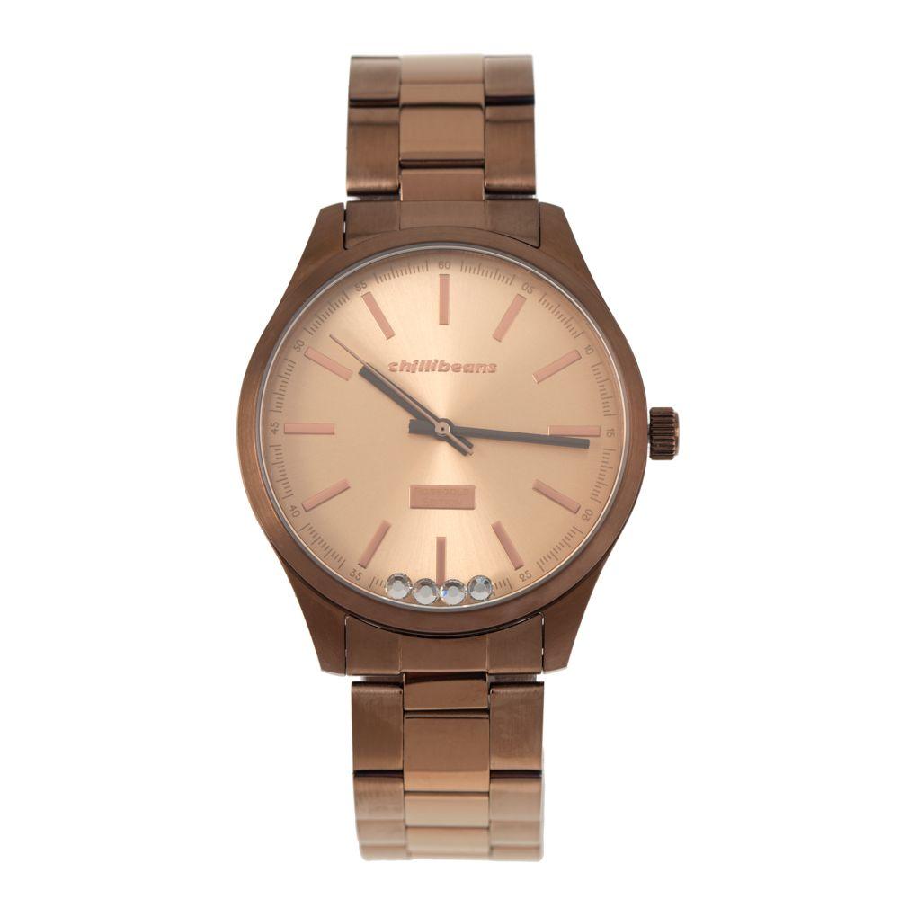 Relógio Analógico Feminino Rosé Gold RE.MT.0881-9595