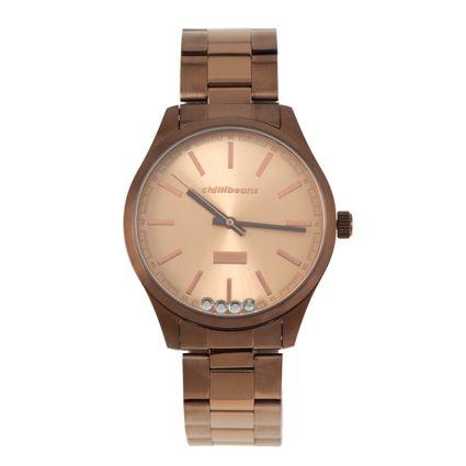 Relógio Analógico Feminino Rose Gold RE.MT.0881-9595