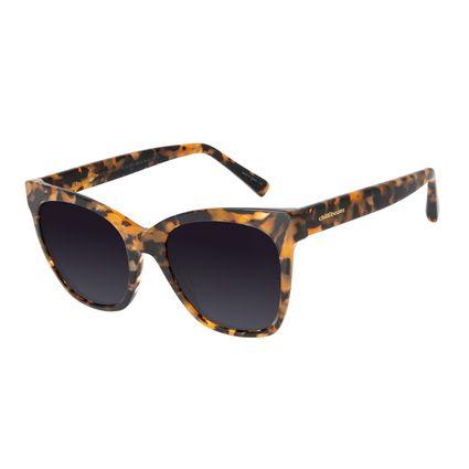 Óculos de Sol Feminino Chilli Beans Cat Tartaruga Polarizado OC.CL.2378-2006