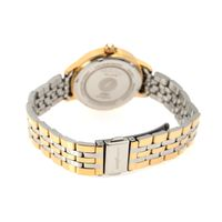Relógio Analógico Feminino Double Plating Dourado RE.MT.1076-2121.2