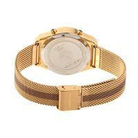 Relógio Digital Feminino Double Plating Dourado RE.MT.1077-2121.2