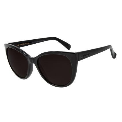 Óculos De Sol Feminino Chilli Beans Redondo Preto OC.CL.2683-0401
