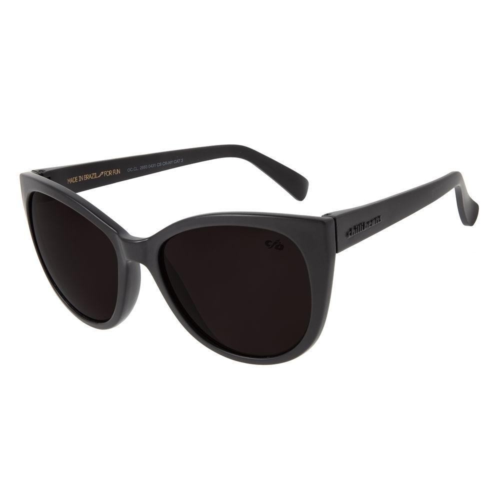 Óculos De Sol Feminino Chilli Beans Redondo Cinza OC.CL.2683-0431