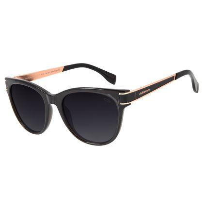 Óculos de Sol Feminino Chilli Beans Quadrado Polarizado Preto OC.CL.2949-0117