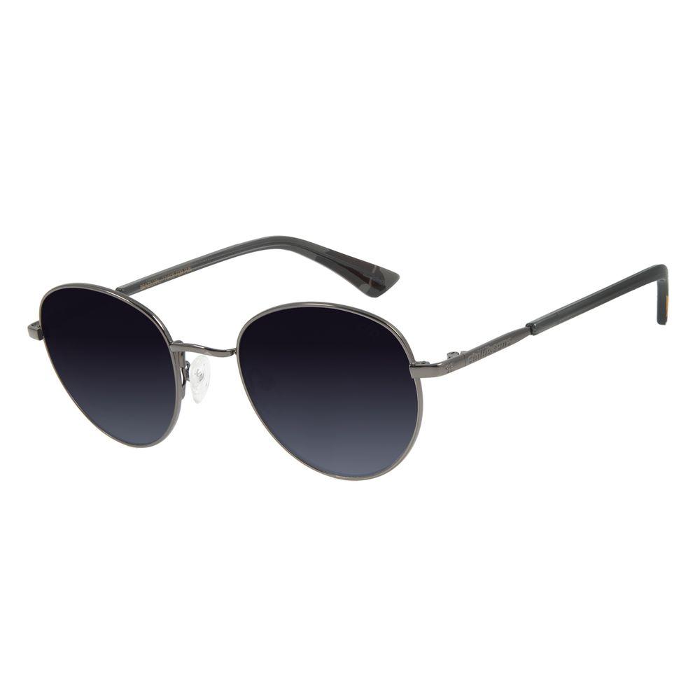 Óculos de Sol Unissex Mãe Natureza Redondo Ônix OC.MT.2866-2022