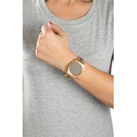 Relógio Digital Feminino Double Plating Dourado RE.MT.1077-2121.4