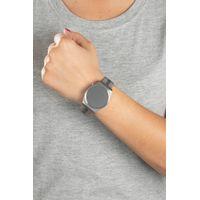 Relógio Digital Feminino Double Plating Prata RE.MT.1077-0707.4