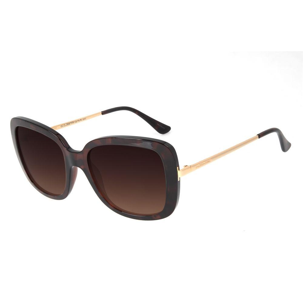 Óculos de Sol Feminino Chilli Beans Quadrado Classic Tartaruga OC.CL.2936-5706