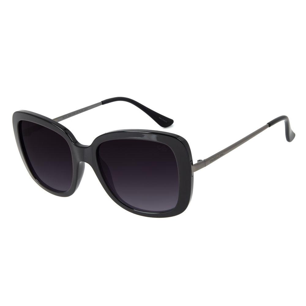 Óculos de Sol Feminino Chilli Beans Essential Quadrado Classic Escuro OC.CL.2936-2038