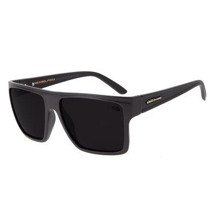 Óculos de Sol Unissex Chilli Beans Essential Quadrado Cinza OC.CL.1058-0412