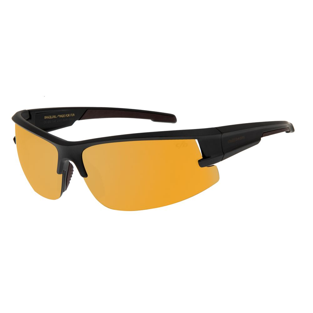 Óculos de Sol Masculino Chilli Beans Flutuante Dourado OC.ES.1145-2101
