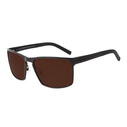 Óculos de Sol Masculino Chilli Beans Quadrado Sport Polarizado Marrom OC.AL.0224-0231