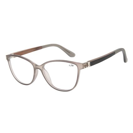Armação para Óculos de Grau Feminino Chilli Beans Gatinho Cinza LV.IJ.0169-0161