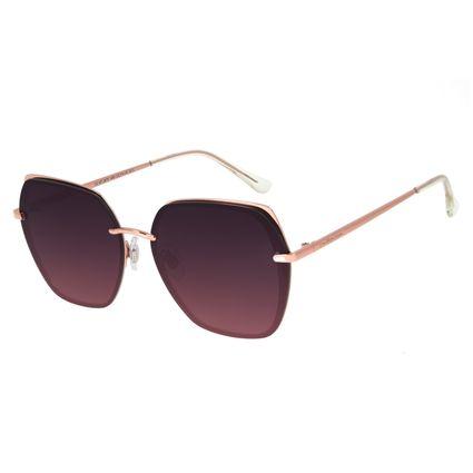 Óculos de Sol Feminino Chilli Beans Quadrado Fashion Roxo OC.MT.2878-1495