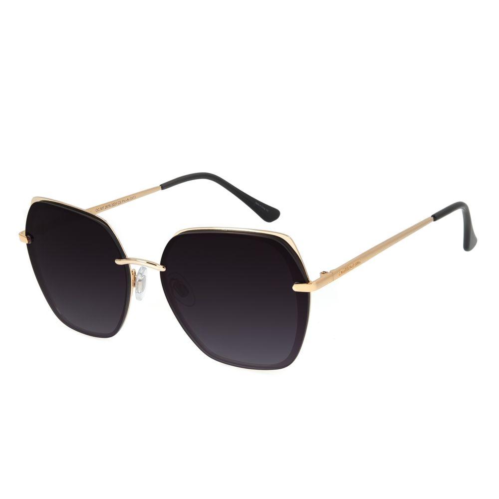 Óculos de Sol Feminino Chilli Beans Quadrado Fashion Degradê OC.MT.2878-2021