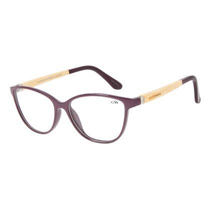 Armação para Óculos de Grau Feminino Chilli Beans Gatinho Roxo LV.IJ.0169-1961
