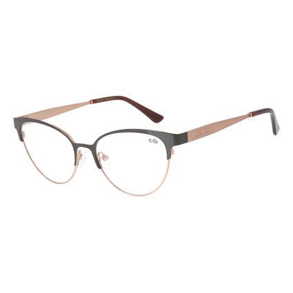 Armação para Óculos de Grau Feminino Chilli Beans Gatinho Marrom LV.MT.0452-4795