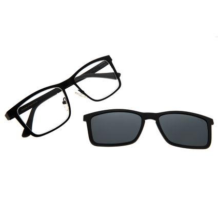 Armação Para Óculos De Grau Masculino Chilli Beans Multi Preto Polarizado LV.MU.0307-0001