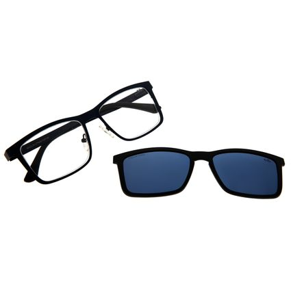 Armação Para Óculos De Grau Masculino Chilli Beans Multi Azul Escuro Polarizado LV.MU.0307-0890