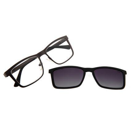 Armação Para Óculos De Grau Masculino Chilli Beans Multi Degradê Grafite Polarizado LV.MU.0307-2024
