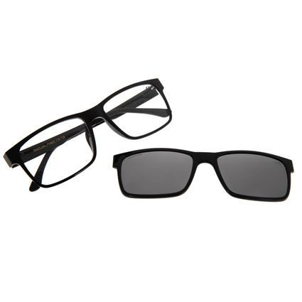 Armação Para Óculos De Grau Masculino Chilli Beans Multi Preto LV.MU.0137-0130