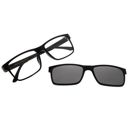 Armação Para Óculos De Grau Masculino Chilli Beans Essential Multi Preto LV.MU.0137-0130