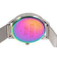 Relógio Analógico Unissex True Colors Prata RE.MT.0996-0707.8
